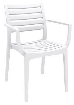Stuart Outdoor Armchair In White