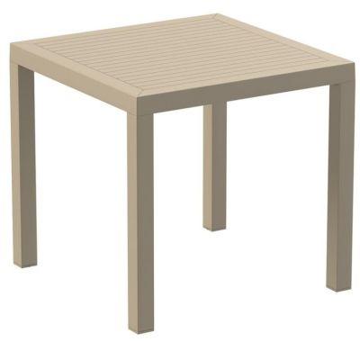 Stuart Square Oputdoor Table In Taupe Colour