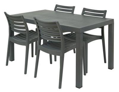 Stuart Outdoor Dining Set With Rectangular Table