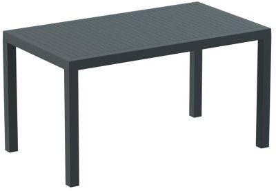 Stuart Rectangular Table In Dark Grey