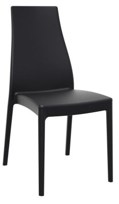 Mabell Outdoor Side Chair In Black