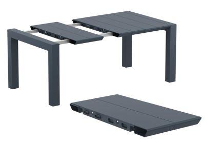Konvey Outdoor Extendable Table In Dark Grey