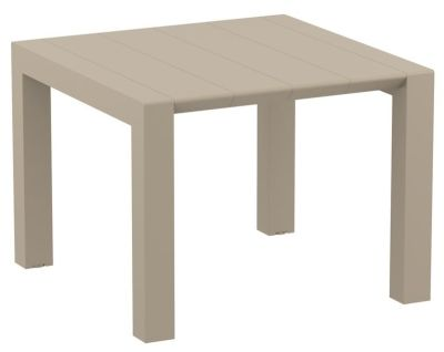 Konvey Outdoor Table In Taupe