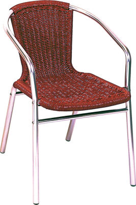 Sonata Chair In A Red Weave