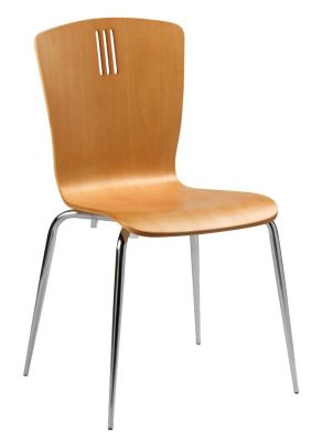Pela Plywood Side Chair