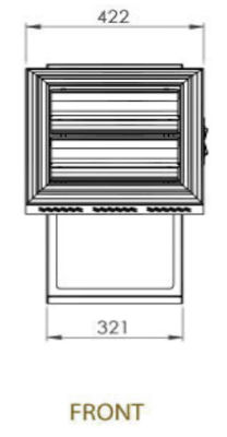 Front Dimensions