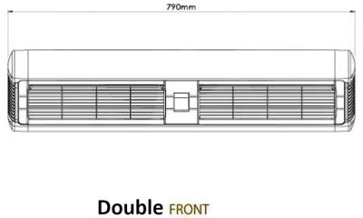 Double Front Dimensions