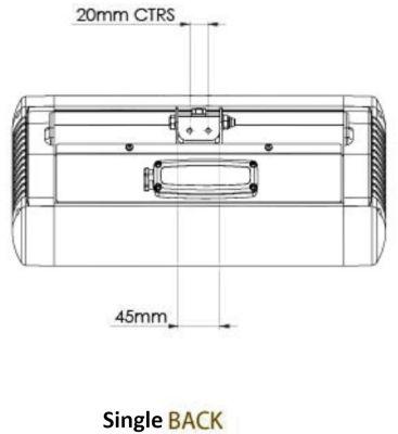 Single Back Dimensions