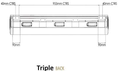Triple Back Dimensions