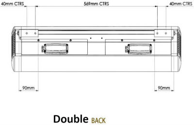 Back Dimensions Double