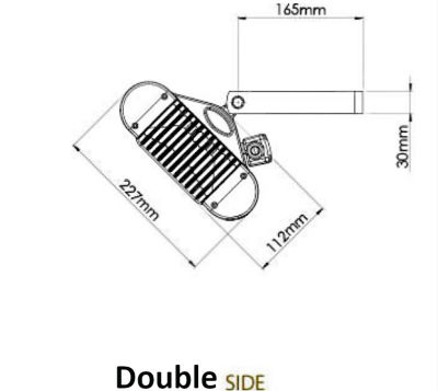 Side Dimensions Double