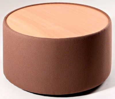 Roulette-Round-Coffee-Table-with-Upholstered-side-compressor