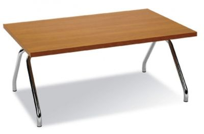 Stylish-Beech-Top-Coffee-Table-with-Chrome-Legs-compressor