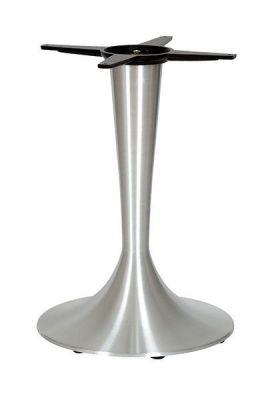 Trumpet-Brushed-Steel-Table-Base