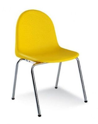 Brightly-Coloured-Curved-Edge-Poly-Chair