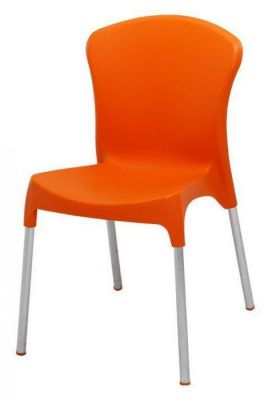 Colour-Thermoplastic-Chair-with-Steel-Legs-Indoor-and-Outdoor-Use