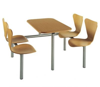 Fast-Food-Unit-with-Wood-Seats