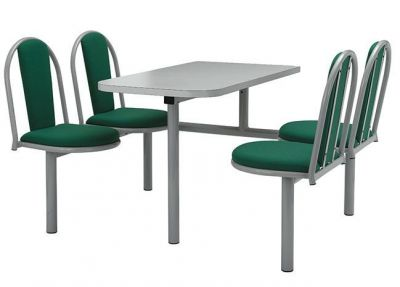 Traditional-Design-Welded-Fast-Food-Furniture-Unit-and-Upholstered-Seat-and-Back