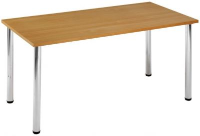 High-Quality-Canteen-Table-with-thick-Chrome-Tubular-Legs