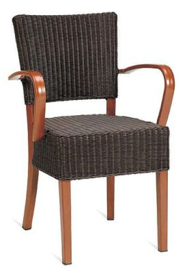 All-Weather-Weave-Arm-Chair-with-Espresso-Brown-Finish-Wood-Arms-and-Frame