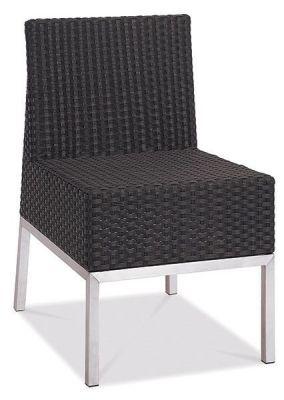 Chunky-Outdoor-Black-Weave-Sidechair