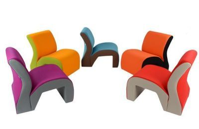 Modular Colourful Reception Seating