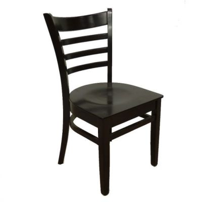 Wenge Dark Wood Finish Dining Chair