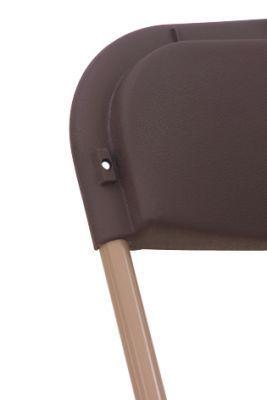 Folding Colour Plastic Occasional Chair