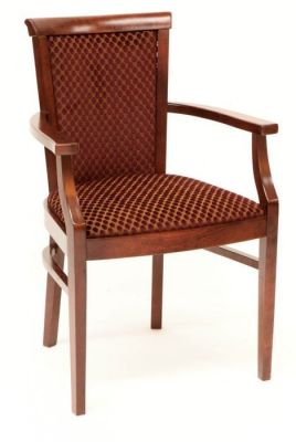 Designer-Dining-Chair-Upholstered-with-a-Wood-Finish-Frame