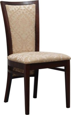 Upmarket-Dining-Wood-Finish-Chair-with-Extra-High-Back