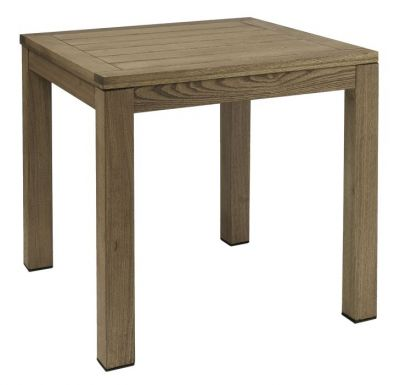 Chucky All Wood Outdoor Table Square