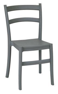 Grey Outdoor Seating Polypropylene