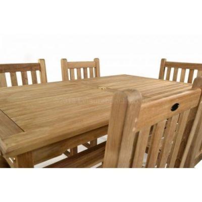 Outdoor Rectangular Teak Dining Table