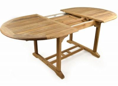 Extendable Outdoor Teak Wood Table