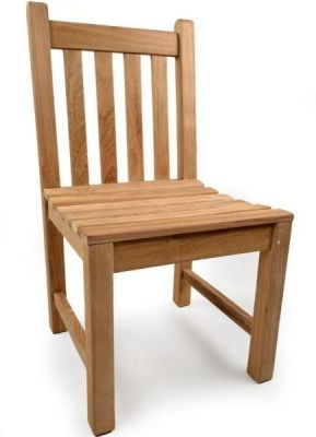 Outdoor Teak Sidechair