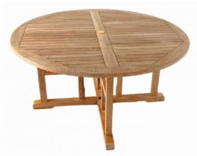 Outdoor Round 1500mm Teak Table Outdoor Use