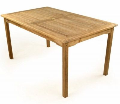 Outdoor Rectangular 1500mm Teak Ptable