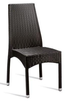 Zippy Outdoor Black Weave Chair