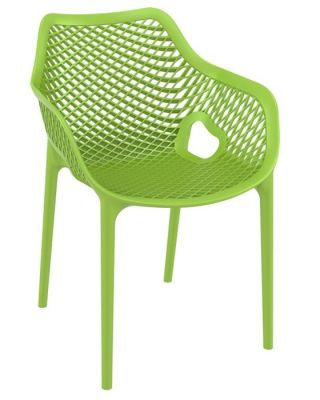 Lime Green Outdoor Plastic Chair