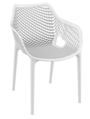 Outdoor Polypropylene Chair White