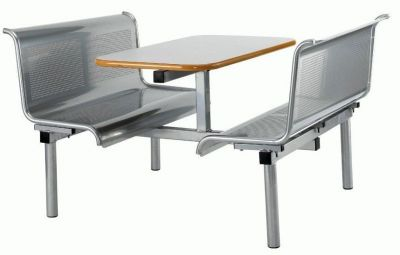 Delta Metal Fast Food Furniture