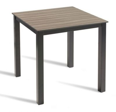Outdoor Zebrano Designer Cafe Table