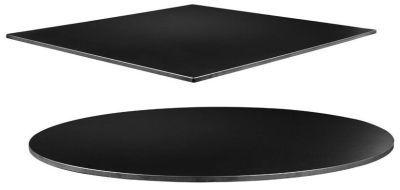 Zebo Black Quartzite Commercial Cafe Table Tops