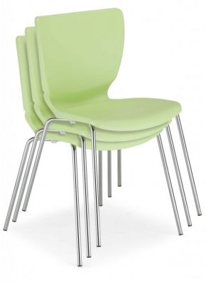 Fargo Chairs In Pistachio Stacked