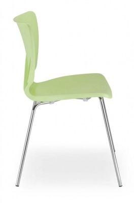 Fargo Chair In Pistachio Side View