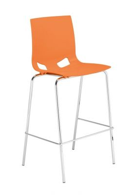 Margo High Stool Orange Seat