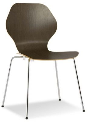 Piazza 3 Chair In Wenge Laminate