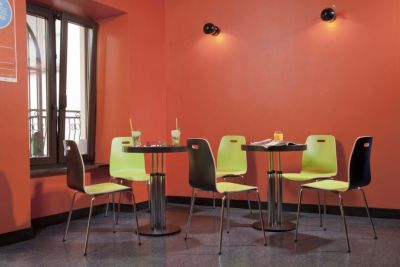 Piazza 2 Chairs In Contrasting Laminate Finishes