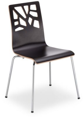 Verona Laminated Cafe Chair In Wenge