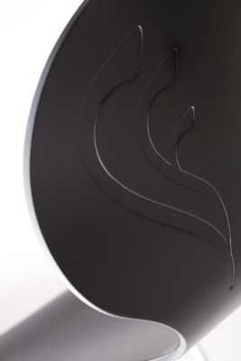 Aribo Cafe Chair Back Detail